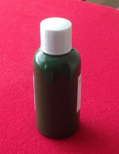 "Computer Matched 50ml Bottle of ""Dark Green"" brush paint for Dinky Toys 261 Telephone Services Van"